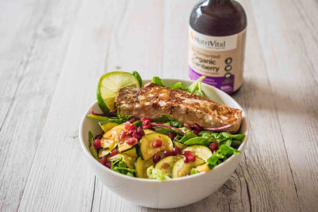 3 ingredient Cranberry Balsamic Dressing recipe