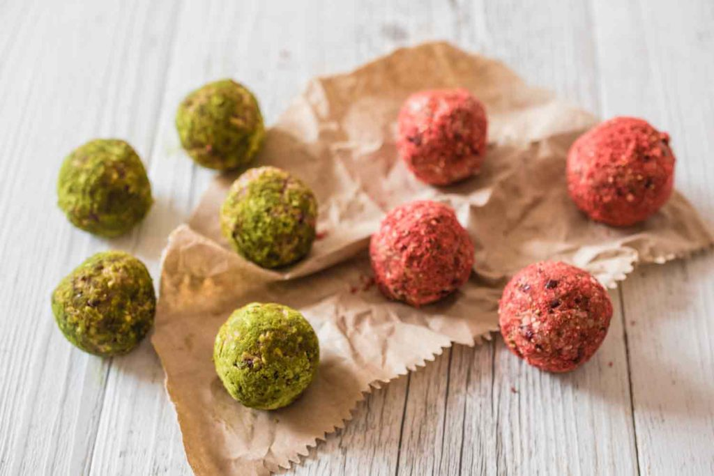 Cranberry, Coconut & Lime Bliss Balls recipe